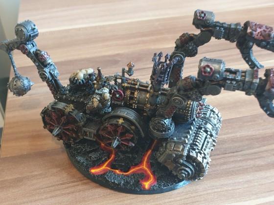 Infernal Engine Steam Hammer