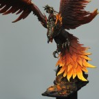 Fire Phoenix with Warden