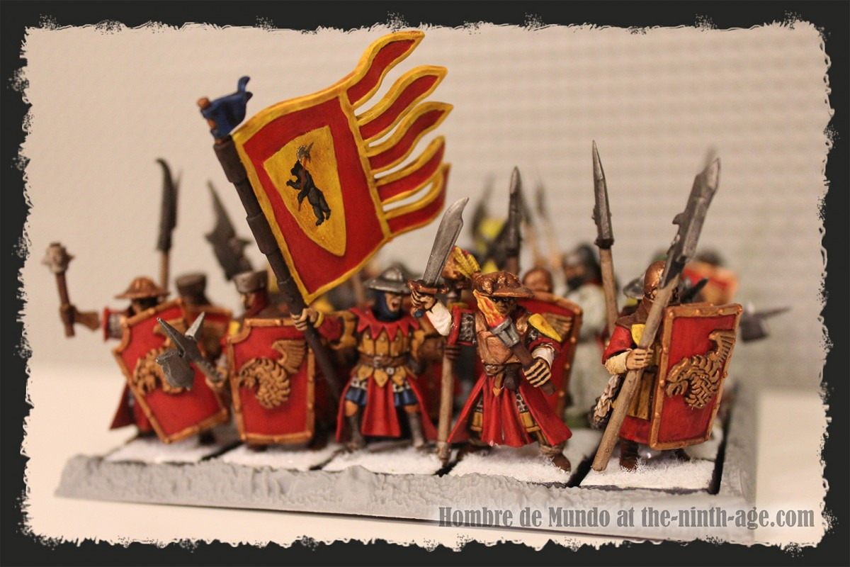 Heavy Infantry Battalion with Halberds