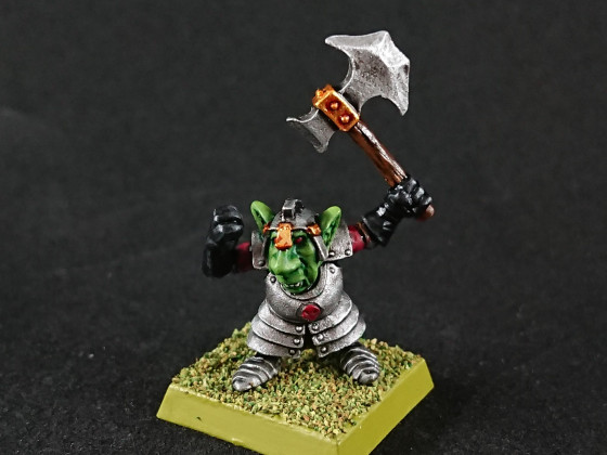 Rebel Miniatures - Goblin Chief