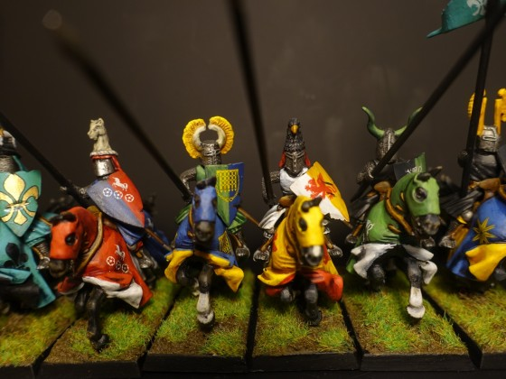 Knights of the Realm - Yellow Unit