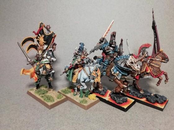 Mounted heroes