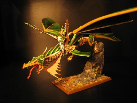 Prince on Dragon