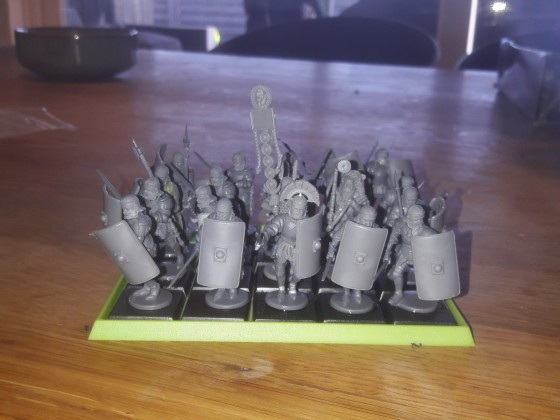 Imperial guard front