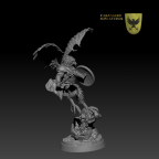 Avian Merikhan the Bald by Caballero Miniatures