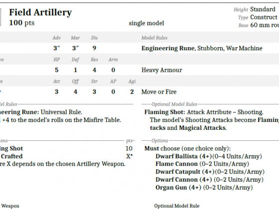Artillery 1