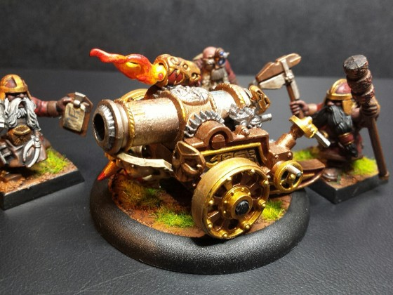 Open Field Machine - Dwarf Cannon