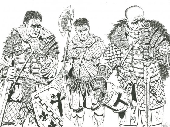 Guardians of Avras Restored by Veli-Matti Pajuniemi