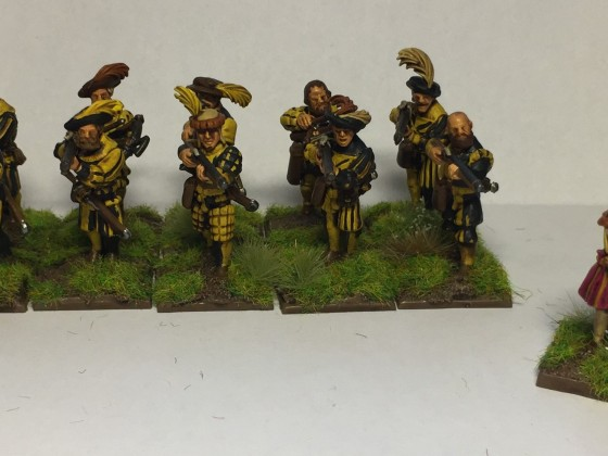 10 Light Infantry and a Wizard
