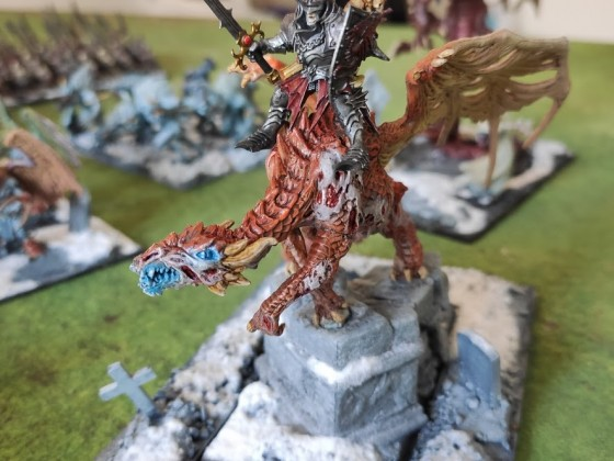 Vampire on Dragon Zombie