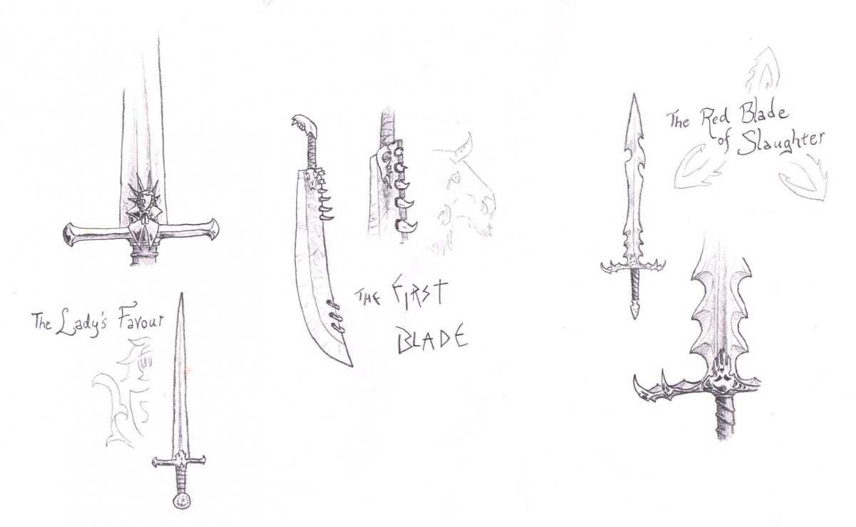 The Many Forms of the Giant Sword vol.2