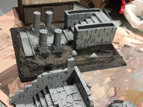Custom Table Project - Making Terrain