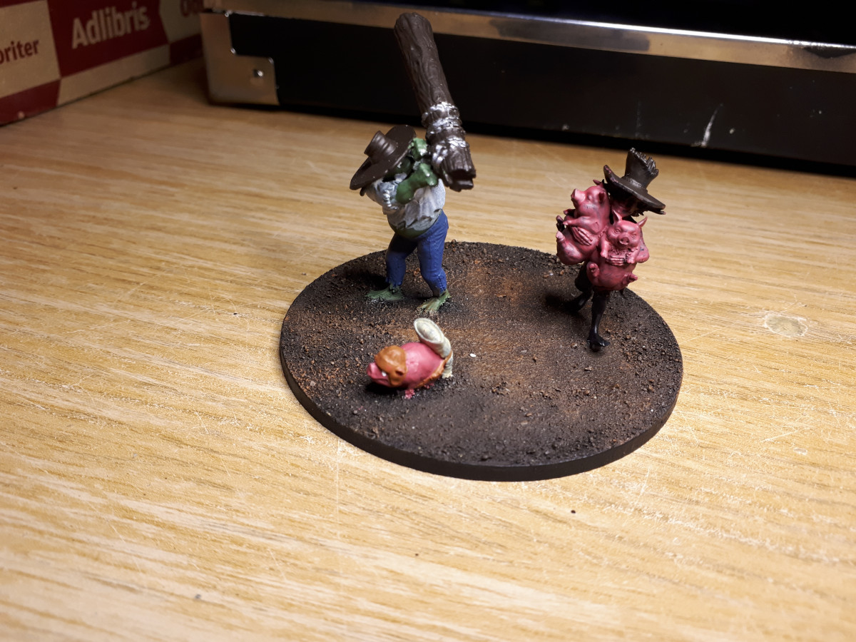 WIP pigapult with orc crew nr 2