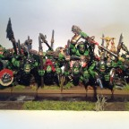 Orc 'Eadbashers with Spear and Shield (and some animosity) Rank 2