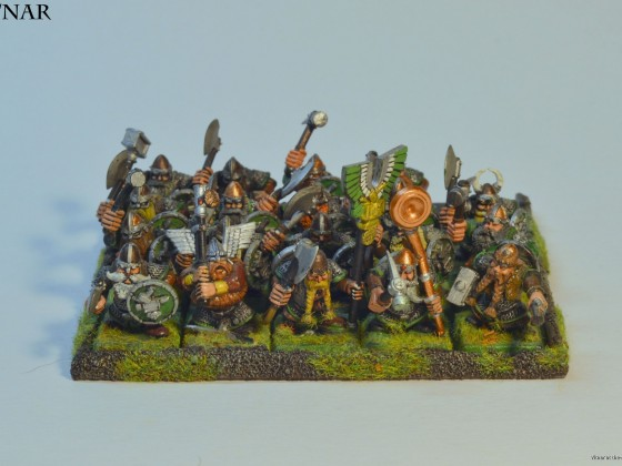 Old 'monkey hands' warriors from 5th edition