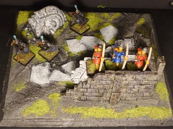 Custom Table Project - Ruins