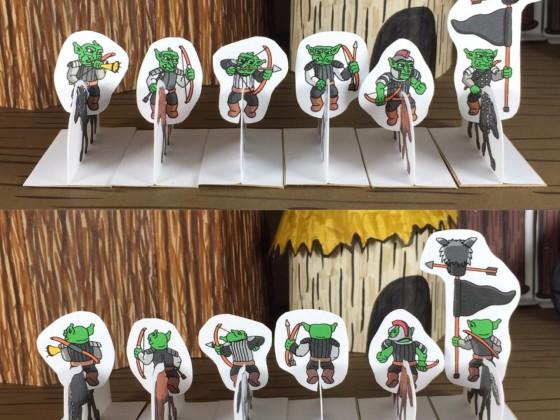 Goblin Wolf Riders w/bows
