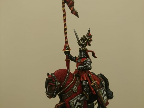 Knight of the Realm on crusade against the Saurian pagans
