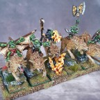 Goblins riders wolf / Jinetes Goblin en lobo