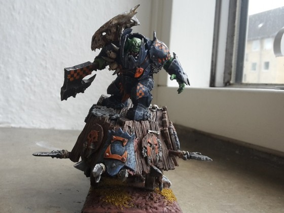 Warboss on Chariot