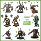 choose your favourite Warlord!