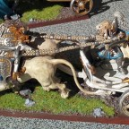 Lion Chariot with Character