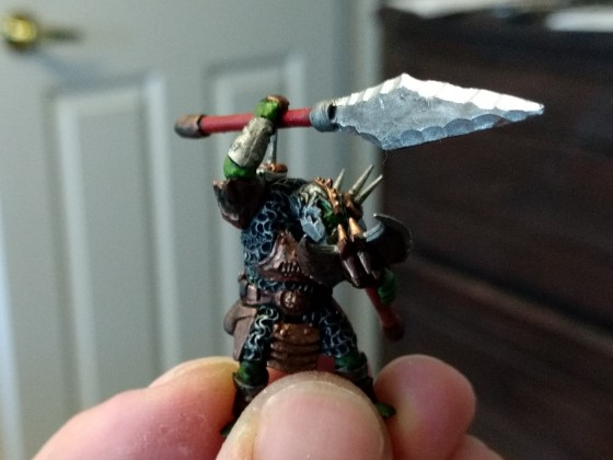 Custom Chief for my Orc Boar Chariots