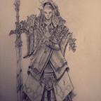 Highborn Elf Sword Master by NatteRavnen