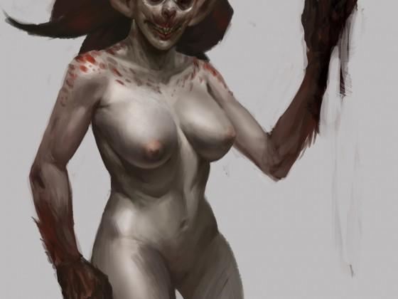 Werebat Vampire Lady by Snook-8