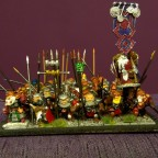 Speardwarves with Characters - front view