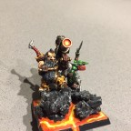 Flamethrower gunnery team