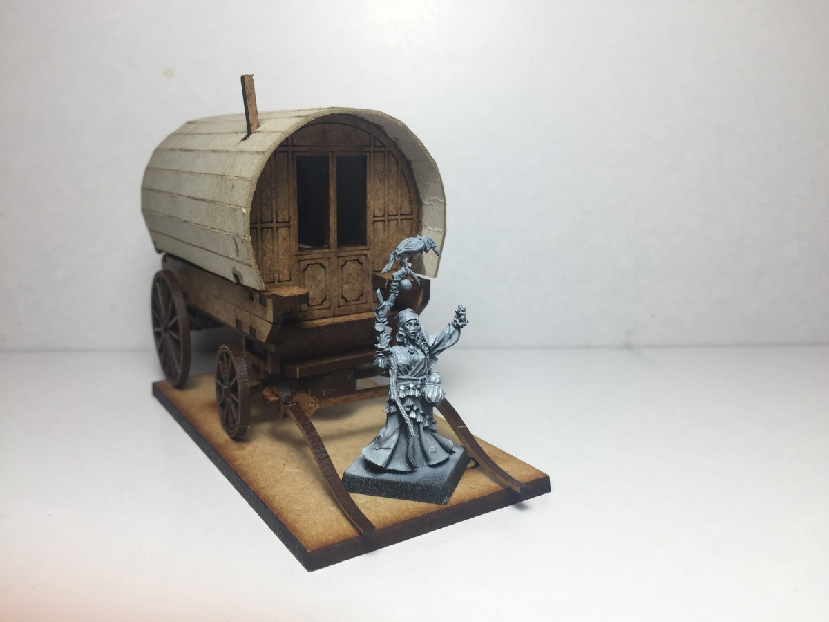 Gypsy Caravan as Arcane engine WIP