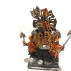 Seeker King on Throne of Axes