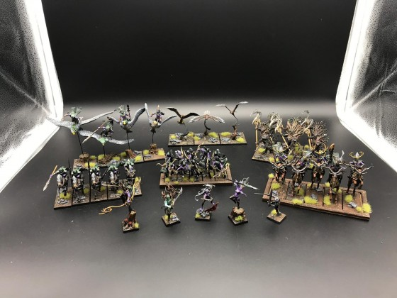 Full Army Overview Sylvan Elves