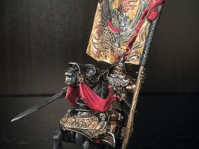 Captain with Imperial Banner
