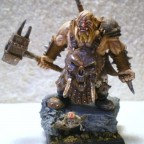 """Ogre Brawler Painted by """"Chuck"""""""
