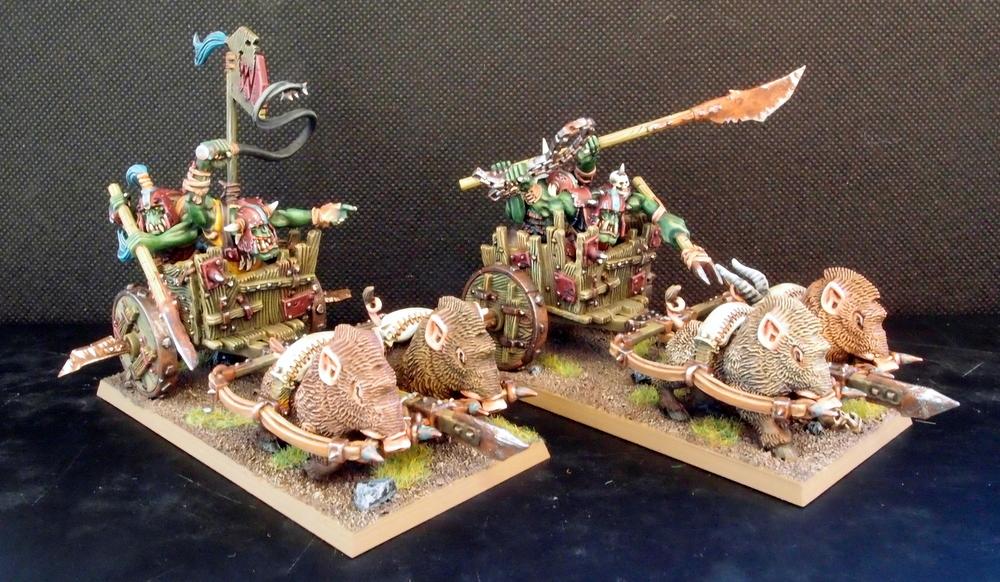 Orc Boar Chariots