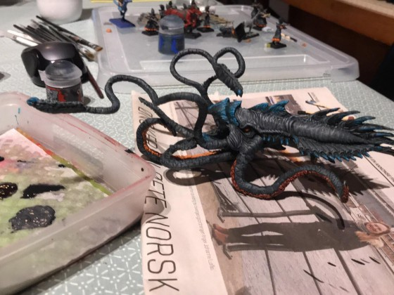 MrMossevig's Painting League 2019 - The Kraken