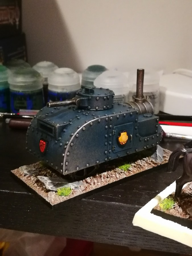 Ironclad Miniatures, Steam Tank 14