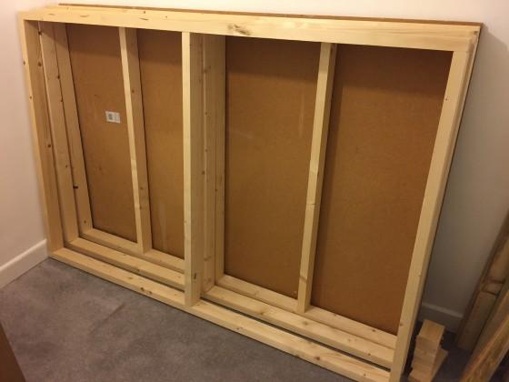 frames built