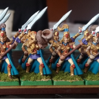 Queen's Guard with Spears (front)