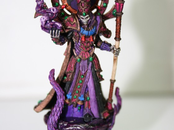 Nosferatu Vampire Count Azrheb in unit