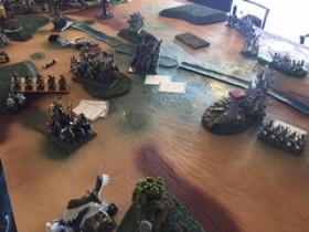 Highborne Elves vs Equitaine