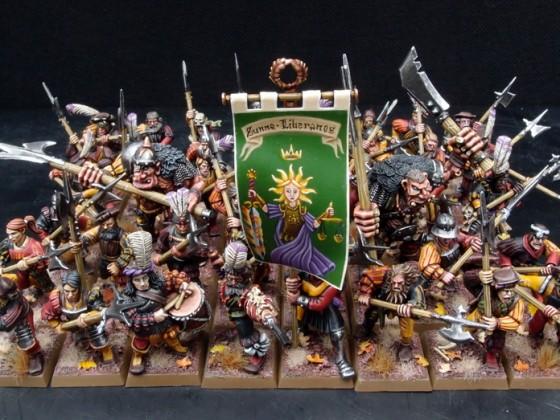 Heavy Infantry - Halberdiers