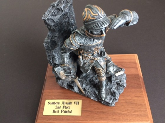 Best Painted, 2nd place, trophy