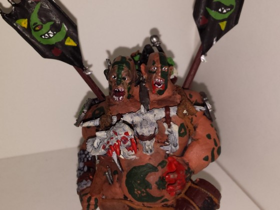 Great Green Idol BSB (with Goblin Drummer)