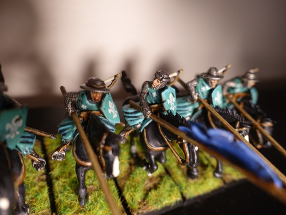 Yeoman Outriders - Blue Unit