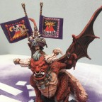 Lord Zanthrax on great bull
