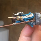 Highborn Elves BSB WIP 1