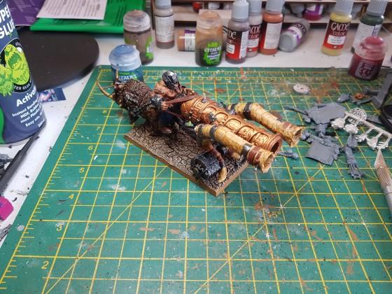 Scottish Knight Thunder Cannon (Back)